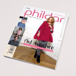 Découvrez dans ce nouveau catalogue 15 modèles de paletots, de pulls, de ponchos à tricoter avec le Phil Aventure. Des modèles layettes, enfants, femmes et hommes.