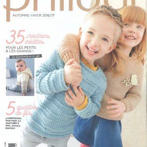 N° 133 PHILDAR enfants automne  hiver 2016-2017_page_0001