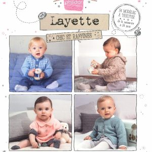 N° 853 PHILDAR edition Marie Claire layette chic et rafinée 2017_page_0001