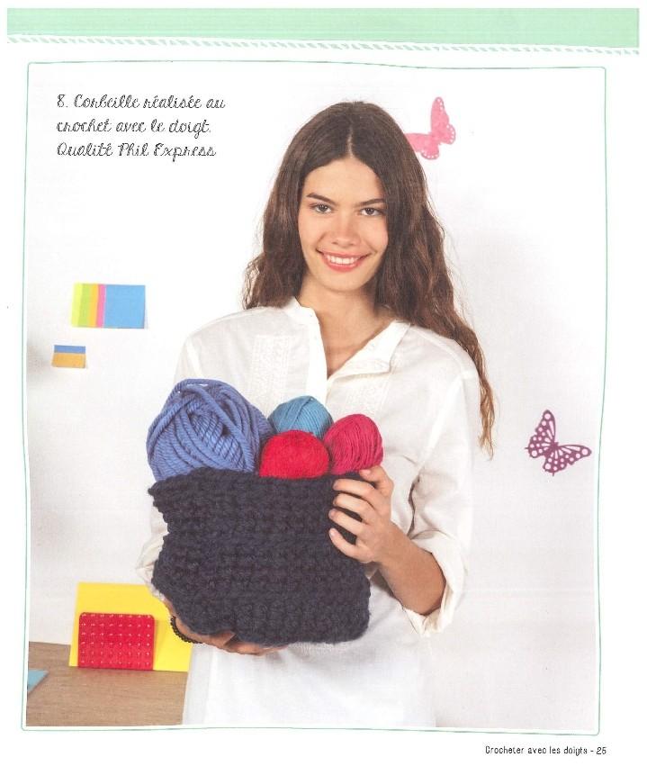 marie claire mille et une facons de tricoter n 850 page 0025 aux doigts de f e. Black Bedroom Furniture Sets. Home Design Ideas