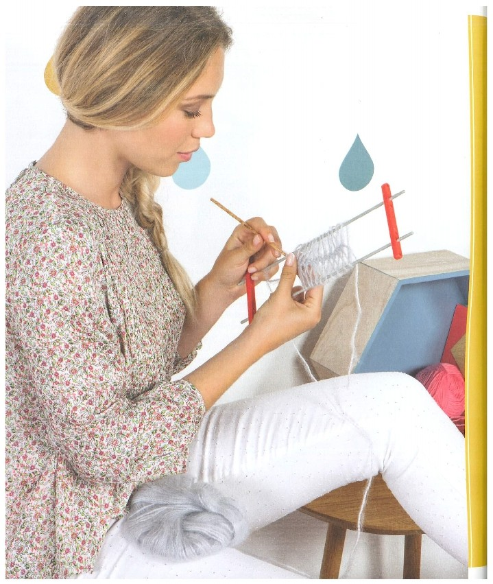 marie claire mille et une facons de tricoter n 850 page 0076 aux doigts de fee. Black Bedroom Furniture Sets. Home Design Ideas