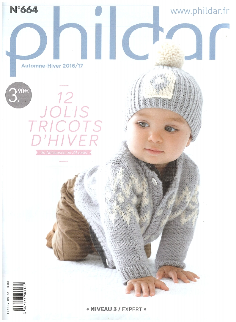 PHILDAR TÉLÉCHARGER LAYETTE CATALOGUE