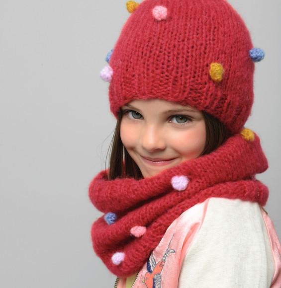 Nos mod les de snoods aux doigts de f e - Modele de bonnet a tricoter facile ...