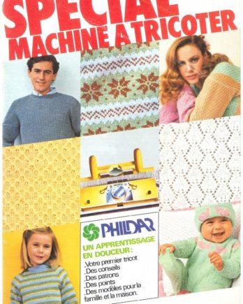 N° 60 PHILDAR spécial machine à tricoter année 1978