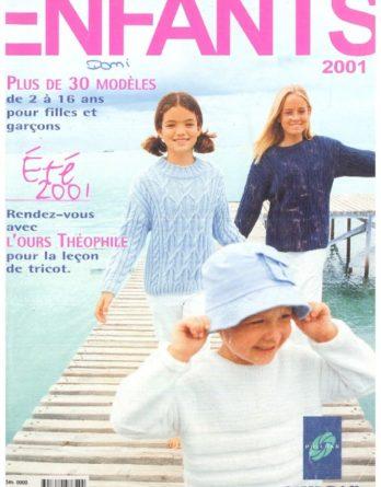 Catalogue Phildar N° 345 été 2001 PDF