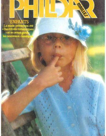 N° 58 PHILDAR enfants printemps année 1978
