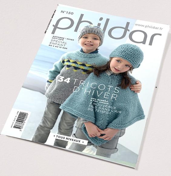 Catalogue N° 150 PHILDAR spécial enfant 2017 2018 0c544b9c9ab