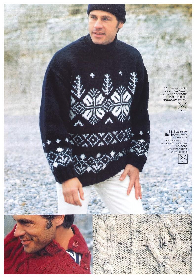 N 780 phildar homme hiver 1997 pdf - Signification des bagues aux doigts homme ...