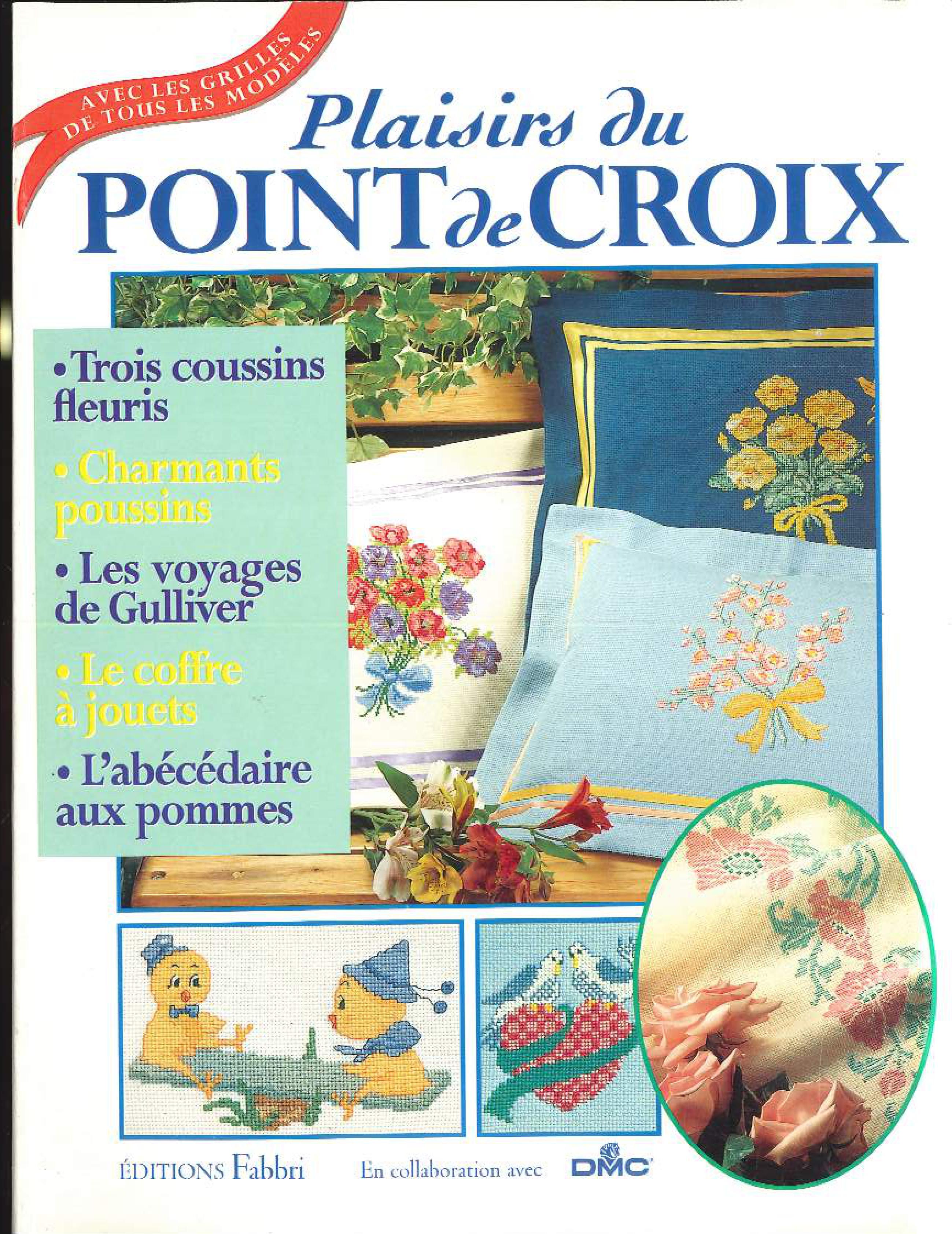 L Art Du Point De Croix catalogue plaisir du points de croix numéro 3 occasion